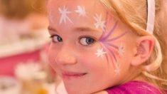 Esta niña sobrevive a un tumor ocular extremadamente raro, pero los médicos pensaron que era algo más