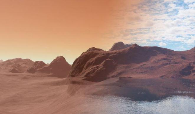 """Dos razones de por qué en Marte desapareció el agua y su """"ambiente terrenal"""""""