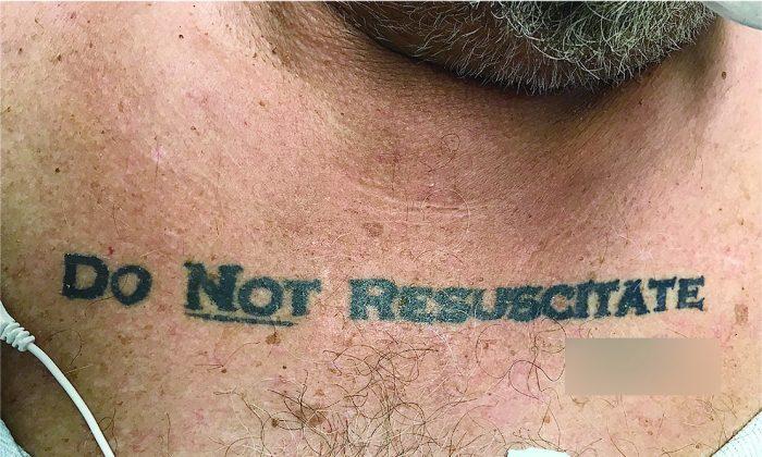 Los médicos enfrentan una pesadilla ética al descubrir el tatuaje