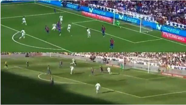 ¿Messi o Ronaldo? Este video es furor al comparar cómo una misma jugada da distintos resultados
