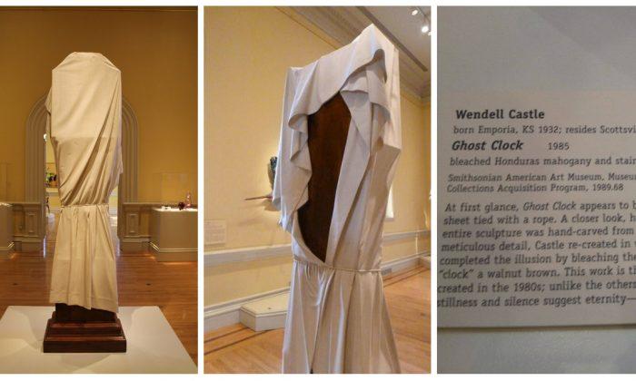 Los visitantes del museo preguntan por qué el reloj está cubierto. Algo lo revela ¡Es sorprendente!