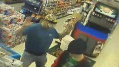 Bombero actúa como héroe y detiene a ladrón