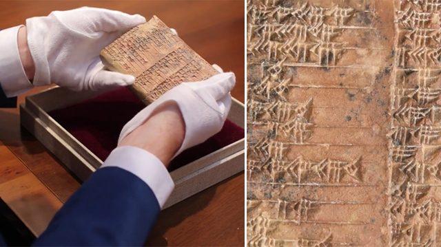 Tabla babilónica de 3700 años ofrece un nuevo ángulo en la trigonometría; la más antigua de su tipo