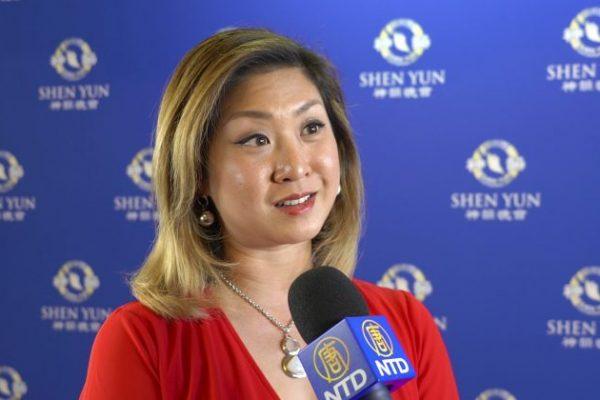 La conductora de TV Jolene Chin recomienda a Shen Yun