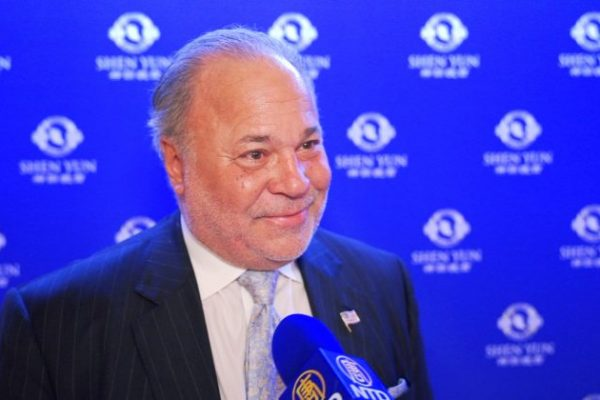 Excandidato a alcalde de Nueva York se siente honrado de ver Shen Yun