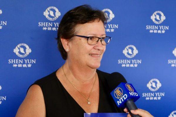 Formadora Ambiental sintió el poder sanador de Shen Yun