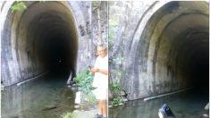 """Sonido aterrador sale de un túnel abandonado en Argentina, """"no vayas allí"""""""