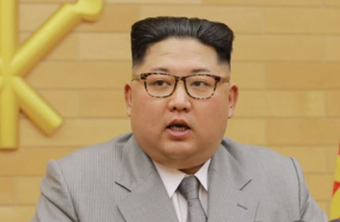 Kim Jung un durante su mensaje de Año Nuevo (Agencia de Noticias)