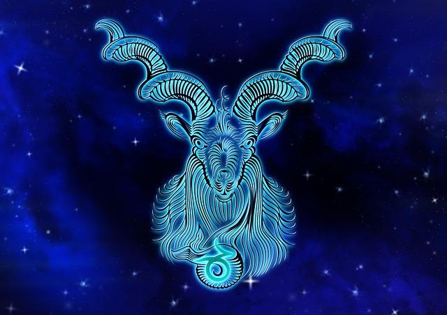Capricornio. Signo del zodíaco.
