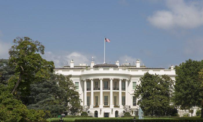 La Casa Blanca en Washington el 19 de septiembre de 2017. (Crédito de Samira Bouaou / La Gran Época)