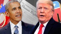 Obama vs Trump: ¿cómo les va en derechos humanos y política exterior?