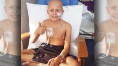 """Niño de 9 años lucha contra el cáncer, con """"días o semanas"""" de vida, resiste solo para conocer a su hermanita"""