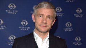 El actor Martin Freeman  sobre Shen Yun: 'Te das cuenta cuando ves buenas actuaciones'