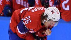 La terrorífica lesión que sufrió jugador de hockey sobre hielo en Pyongyang 2018