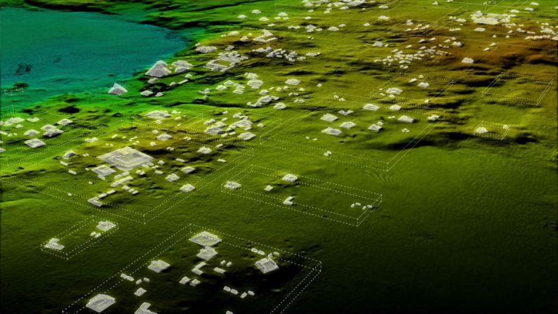 Escaneo de láser revela 60 mil construcciones Mayas en Guatemala, una civilización mayor de lo pensado