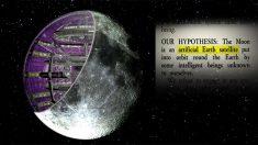 """Investigadores: la Luna es """"NAVE ESPACIAL"""" ARTIFICIAL, posiblemente de miles de millones de años"""