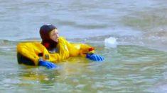 Esto es lo que hay que hacer para sobrevivir si caes a un lago helado