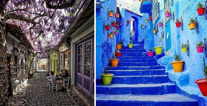 ¡Las calles más hermosas de todo el mundo! ¿En cuál te gustaría vivir?