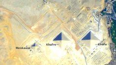 Descubren un secreto alineamiento de las pirámides coincidente al equinoccio