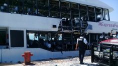 Explota ferry en Playa del Carmen, México, dejando al menos 18 heridos