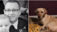 Un hombre cree que su perro ha salvado su vida unas 4.000 veces desde que se conocieron