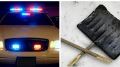 Policía recibe una llamada sobre hombre robando una pala. Pero cuando llegan, no es lo que piensan