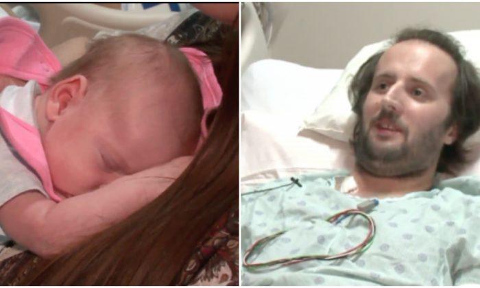 Despierta de un coma y descubre que es padre de una niña que no recuerda haya nacido