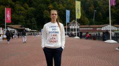 """Atleta rusa hizo campaña con la frase """"Yo no me dopo"""" y luego dio positivo en los Juegos Olímpicos"""