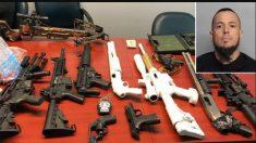 Detienen argentino en Miami causando disturbios con más de 20 armas en su domicilio