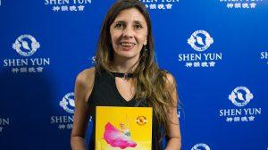 """Ver Shen Yun """"es necesario para el alma"""", dice funcionaria de Migraciones"""
