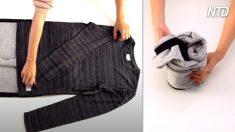 Si no te cabe tu ropa, tienes que probar estos 7 trucos para hacerla más compacta y es muy fácil