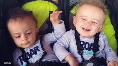 Estos hermanos gemelos nacieron con diferente tono de piel