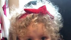 Niña de 2 años nombra a las marcas de moda por sus logotipos, pronuncia 'Louis Vuitton' mejor que muchos adultos