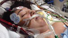 Mamá cae en coma después del parto. Una semana después, el llanto de su bebé hace milagros