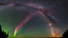"""""""Steve"""": el misterio de las luces púrpuras en el cielo es resuelto por científicos aficionados"""