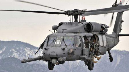 Se estrella helicóptero HH-60 estadounidense en Iraq: mueren siete personas a bordo