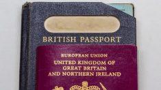 Icónico pasaporte azul británico, tras el Brexit sería fabricado en Francia: