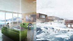 Parece un resort de esquí pero es una cárcel: así es la lujosa prisión de Groenlandia
