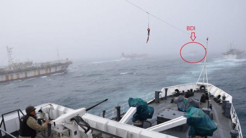 Argentina pide captura internacional a buques chinos que intentaron colisionar un guardacostas