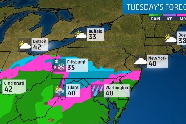 Nueva York bajo nieve: vuelos cancelados