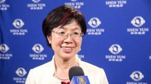 Legisladora disfruta la esencia de la cultura china presentada por Shen Yun