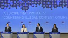 """Los gigantes de Internet tendrán """"una hora para borrar"""" contenidos terroristas, dijo la Unión Europea"""