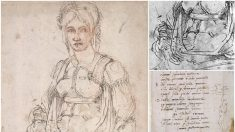Descubren increíble secreto oculto en uno de los dibujos más conocidos de Miguel Ángel