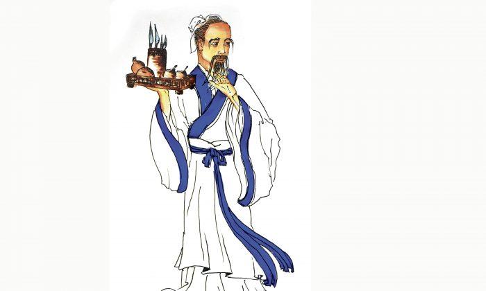 Ilustración de Hua Tuo por Sun Mingguo/La Gran Época