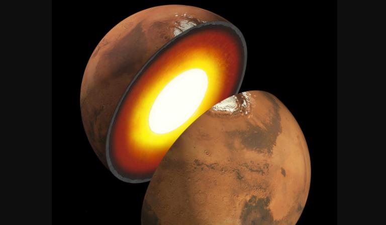 Descubrir el interior de Marte permitirá comprender el exterior del planeta rojo. La nueva Misión InSight tendrá este objetivo. (NASA)