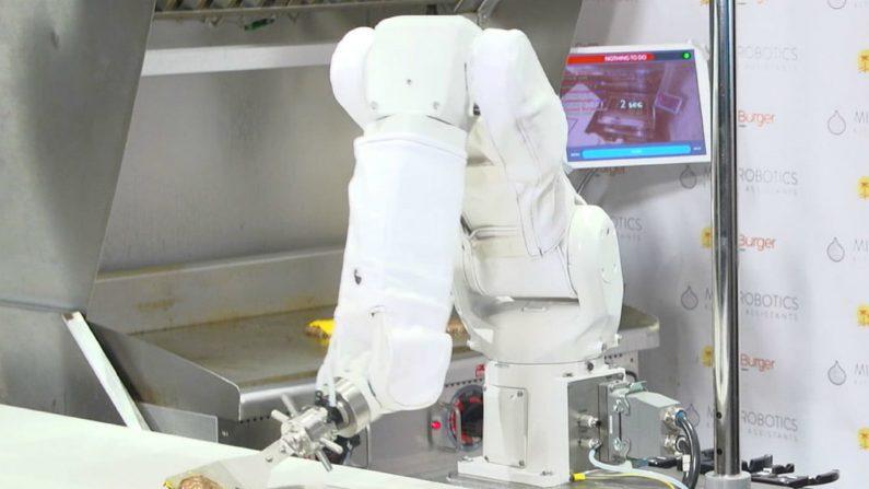 El primer robot con trabajo fijo es despedido en su primer día