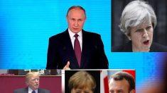 """EE.UU., Reino Unido y Alemania acusan a Rusia por el gas nervioso: """"amenaza nuestra seguridad"""""""