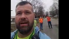 Trabajadores quedan atrapados dos días por las inundaciones, pero luego oyen un fuerte ruido