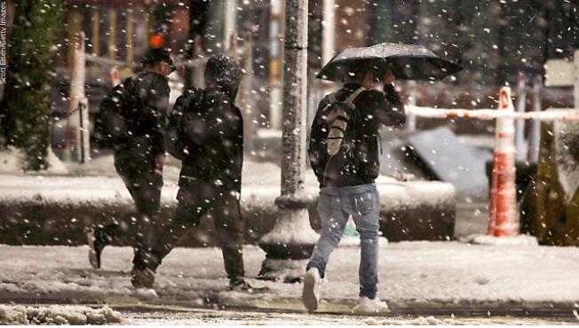Costa este de EUU es azotada por nueva tormenta invernal