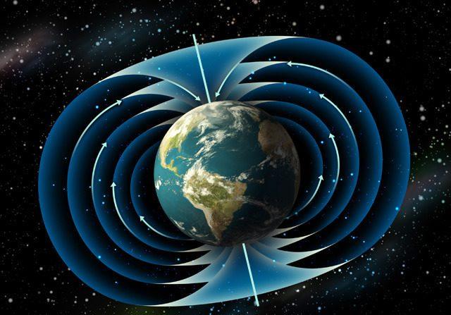 El campo magnético de nuestro planeta se está debilitado en la zona de África
